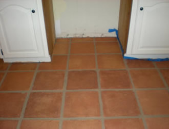 complete restoration including stainging and grout