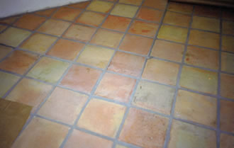 Photos of Before and after Tile Grout Coloring Projects - Saltillo ...