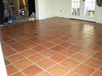Photos Of Before And After Of Saltillo And De Hanis Tile