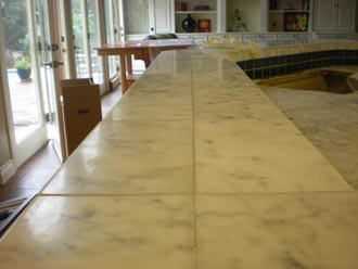 Before And After Of Marble And Terrazzo Tile Projects